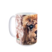 Big Face Alpaca Ceramic mug