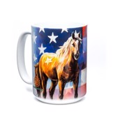 Wild Star Flag Ceramic mug
