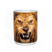 Big Face Roaring Lion Ceramic mug