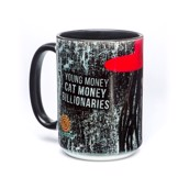 Cat Money Billionaires Ceramic mug