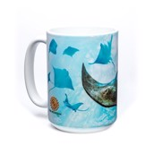 School of Stingrays Ceramic mug