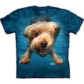 Underwater Dog Brady t-shirt med Yorkshire Terrier