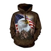 Independence Eagle Adult Hoodie