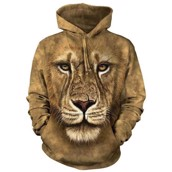 Lion Warrior Adult Hoodie
