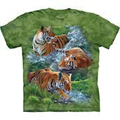 Water Tiger Collage t-shirt
