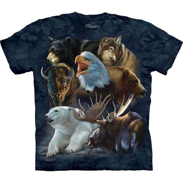 Wild Alaskan Collage t-shirt
