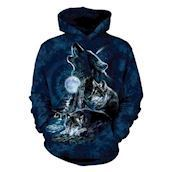 Bark at the Moon Adult Hoodie