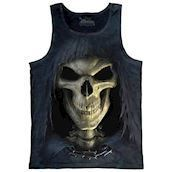 Big Face Death tank top, Adult 2XL