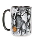 Big Face Ganesh Ceramic mug