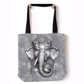 Big Face Ganesh Tote Bag