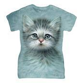 Blue Eyed Kitten ladies t-shirt