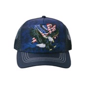 Eagle Talon Flag Trucker Cap