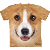 Corgi Dog Face t-shirt