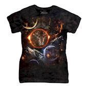 Cosmic Wolves ladies t-shirt