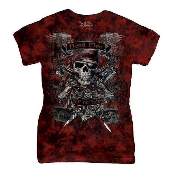 Dead Men ladies t-shirt