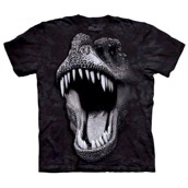 Big Face Glow Rex t-shirt