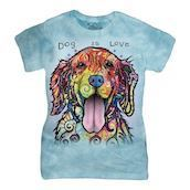 Dog Is Love ladies t-shirt