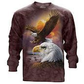 Eagle and Clouds long sleeve
