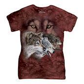 Find 9 Wolves ladies t-shirt