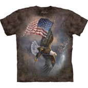 Flag Bearing Eagle t-shirt