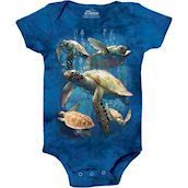 Sea Turtle Family Bodystocking