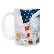 Independence Eagle Ceramic mug