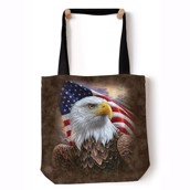 Independence Eagle Tote Bag