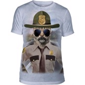 Kitten Trooper Mens Triblend Tee