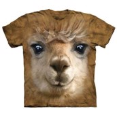 Big Face Alpaca t-shirt