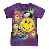Peace And Happiness ladies t-shirt