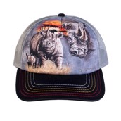 Rhino Grey Trucker Cap