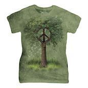 Roots of Peace ladies t-shirt