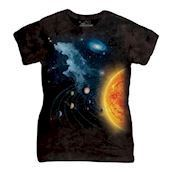 Solar System ladies t-shirt