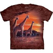 Sundown Giraffes t-shirt