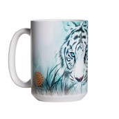 Thoughtful White Tiger Ceramic mug