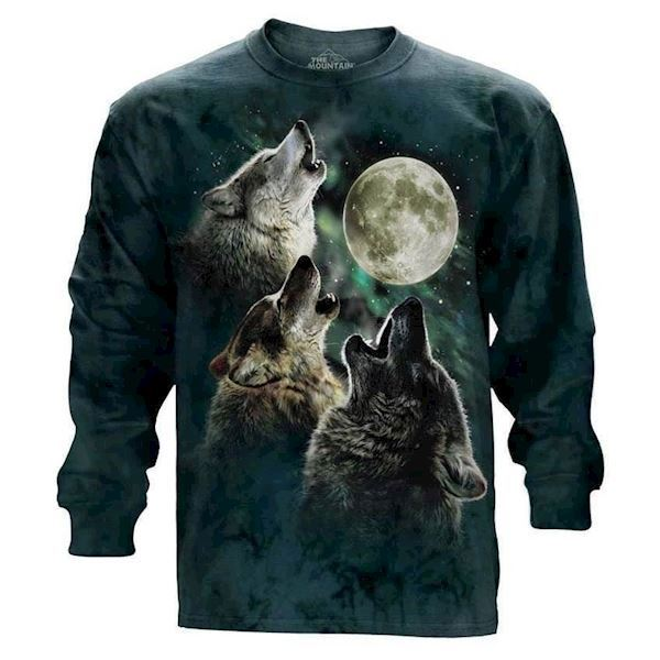 Three Wolf Moon long sleeve