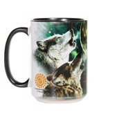 Three Wolf Moon Ceramic mug