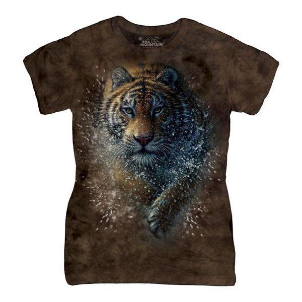 Tiger Splash ladies t-shirt