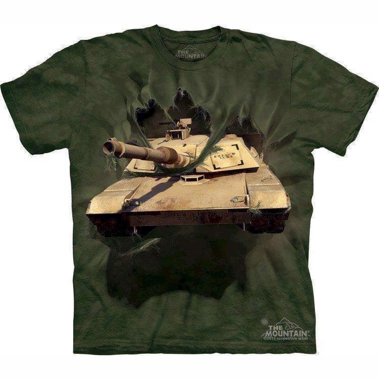 M1 Abrams Tank Breakthrough t-shirt