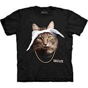 Tupaw Cat t-shirt från The Mountain