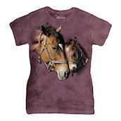 Two Hearts ladies t-shirt