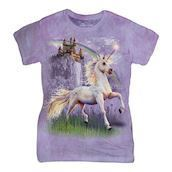 Unicorn Castle ladies t-shirt