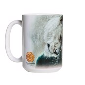 White Lion Love Ceramic mug