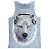 White Wolf DJ tank top