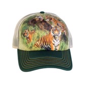 Wild Tiger Collage Trucker Cap