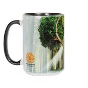 Yin Yang Tree Ceramic mug