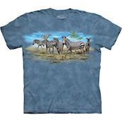 Zebra Gathering t-shirt