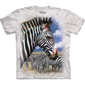 Zebra Portrait t-shirt